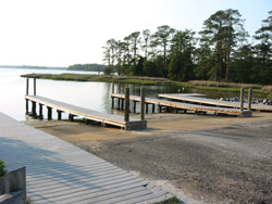 First Landing State Park's boat ramp
